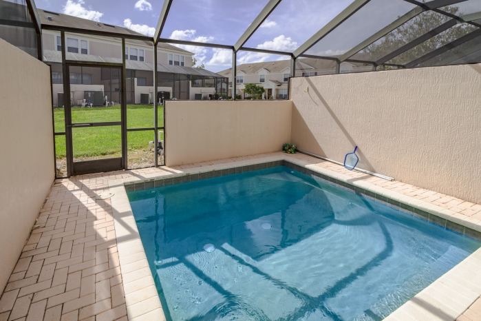 Splash Pools at the 3 bedroom 3 bath townhomes