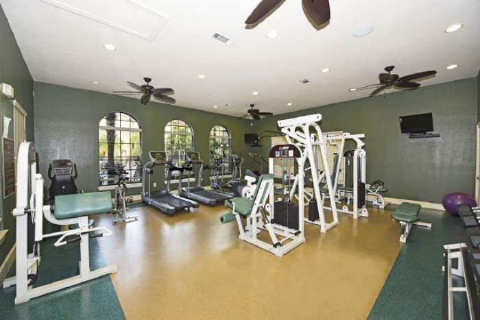 State of the art gym equiptment so you can stay in shape on your trip