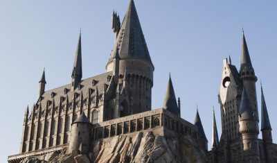 Head to the Wizarding World of Harry Potter first thing in the morning.