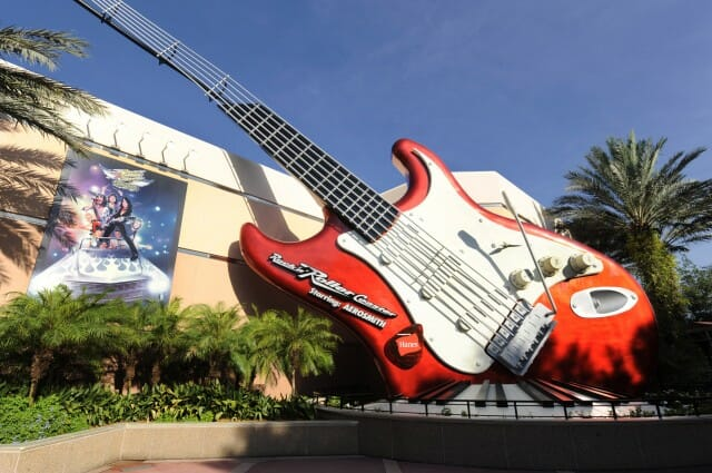 Rock n Roller Coaster at Disney's Hollywood Studios.