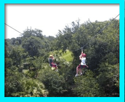 Orlando Vacation Zip Lining