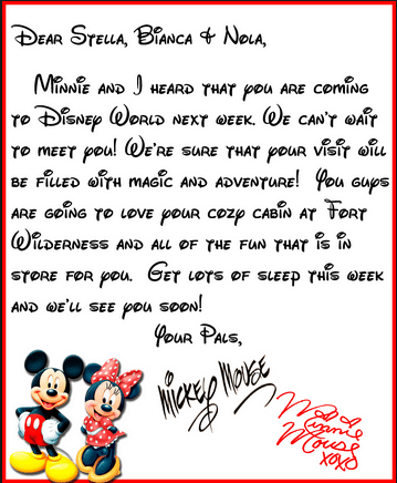 Here is a great invitation sample from inthemousehouse.com!