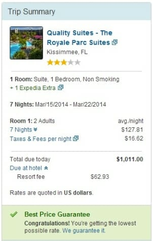 OrlandoVacation.com is cheaper than Expedia.com
