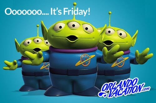 Yay!  It's Friday!  Wishing you another out of this world weekend