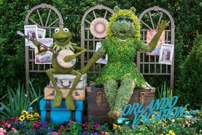 OrlandoVacation_EpcotSpringFlowerandGarden