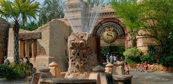 Mystic Fountain Universal Studios