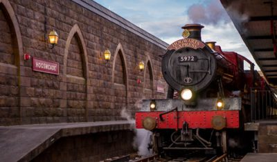 hogwarts express diagon alley universal studios