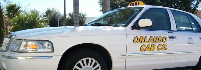 Orlando Cab at airport