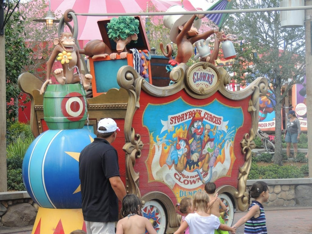 Disney World is more fun than the circus!