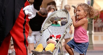 infants at Disney's Magic Kingdom