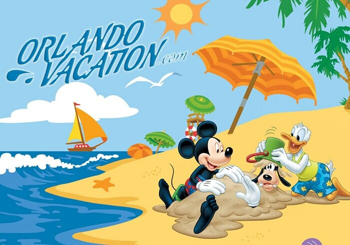 disney summer clipart