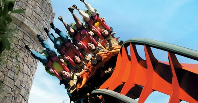 The best universal orlando attractions for teens orlandovacation dueling dragons universal studios ccuart Gallery