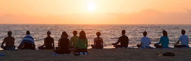 group-florida-beach