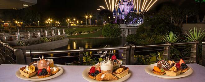 couples fireworks dessert party disney world