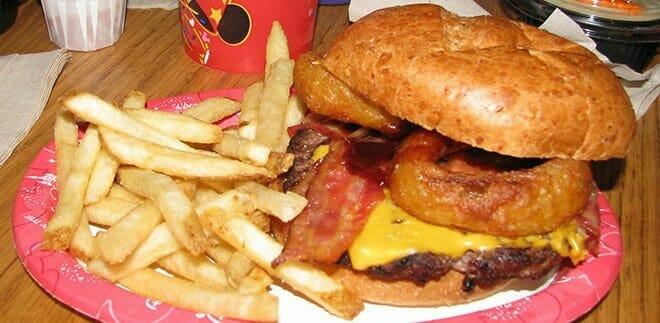 pecos bills disney world deluxe angus burger