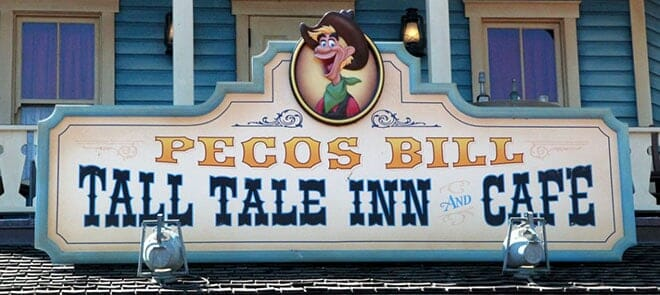 pecos bills tall tale inn and cafe disney world