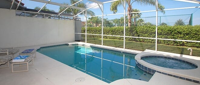 private pool orlando home