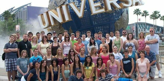 universal studios group travel