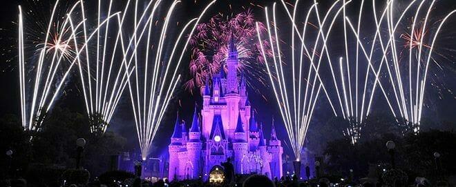 disney world fireworks for couples
