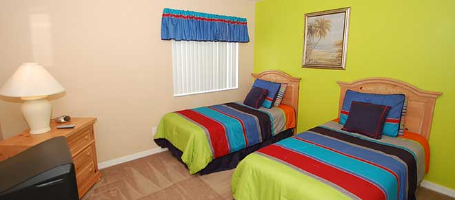 teens bedroom orlando vacation home