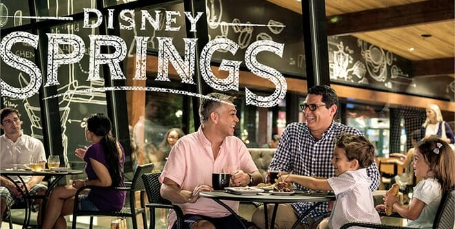 disney springs dining