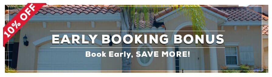 Orlando Vacation Packages - Early Booking Bonus