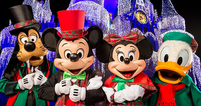 Disney World Merry Christmas Party