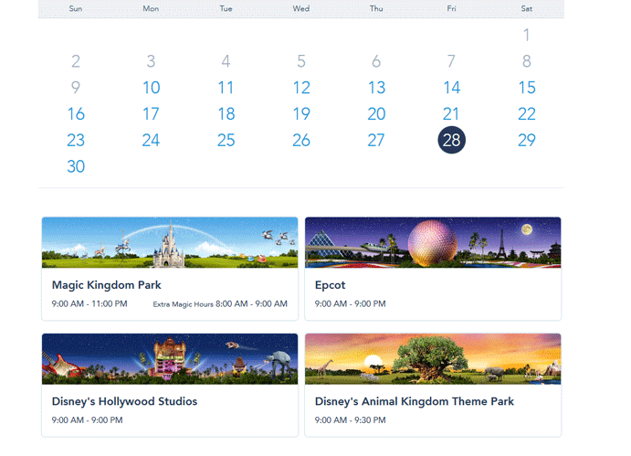 Walt Disney World Fast Pass Reservation - Step 6