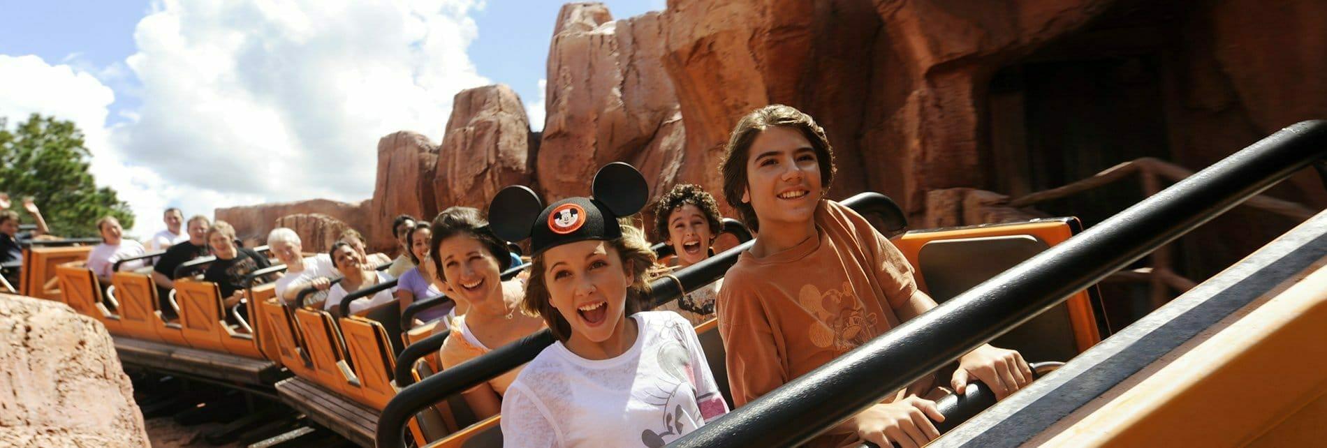 Preteens at Disney