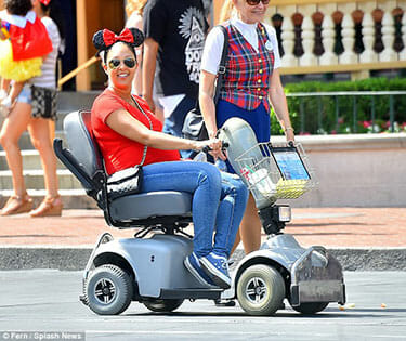 disney world for guests using wheelchairs
