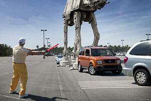 Hollywood Studios Parking Lot Disabilities