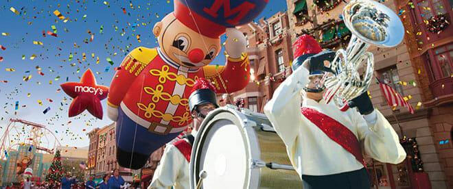 Macy's Parade Universal Studios Orlando