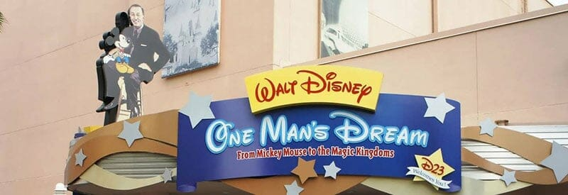 One Man's Dream Hollywood Studios