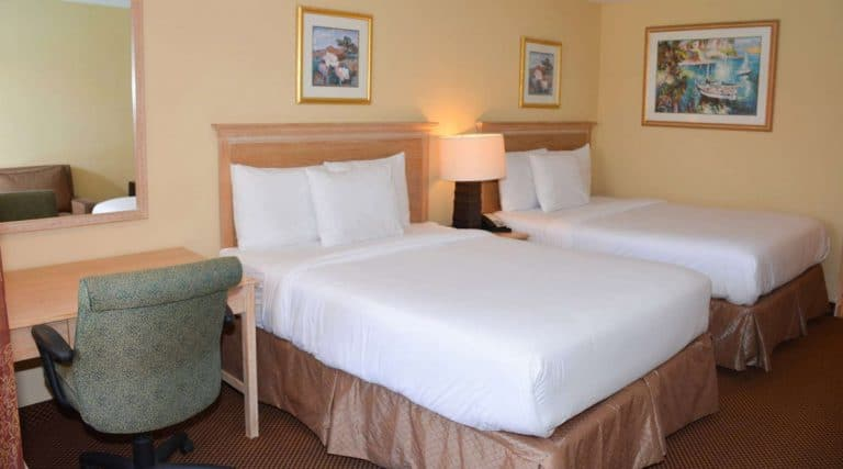 Baymont Inn Universal Orlando Hotel Double Bed