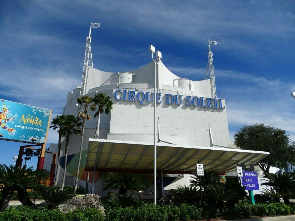 Visiting Disney Springs - Cirque du Soleil