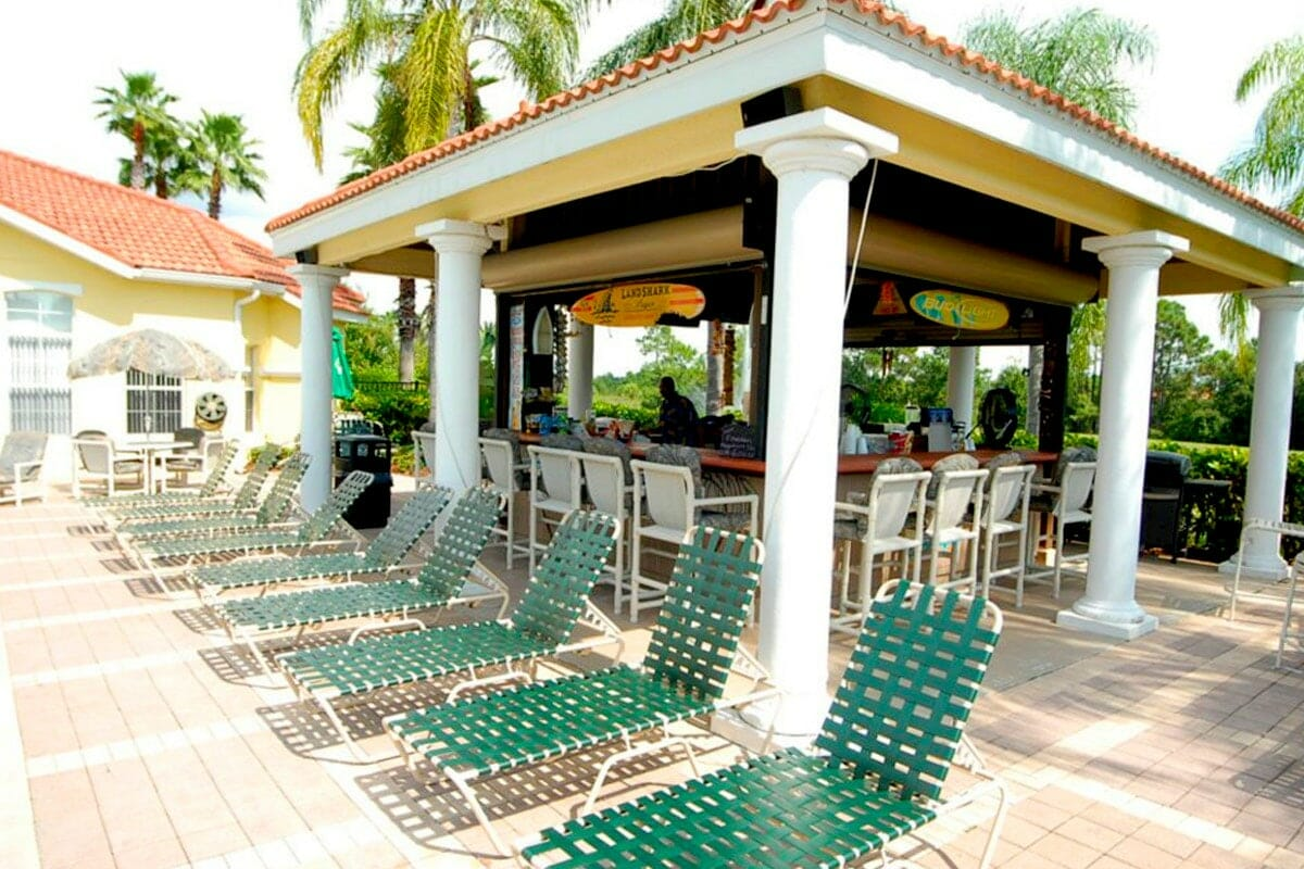 Emerald Island Vacation Town Home Pool Bar