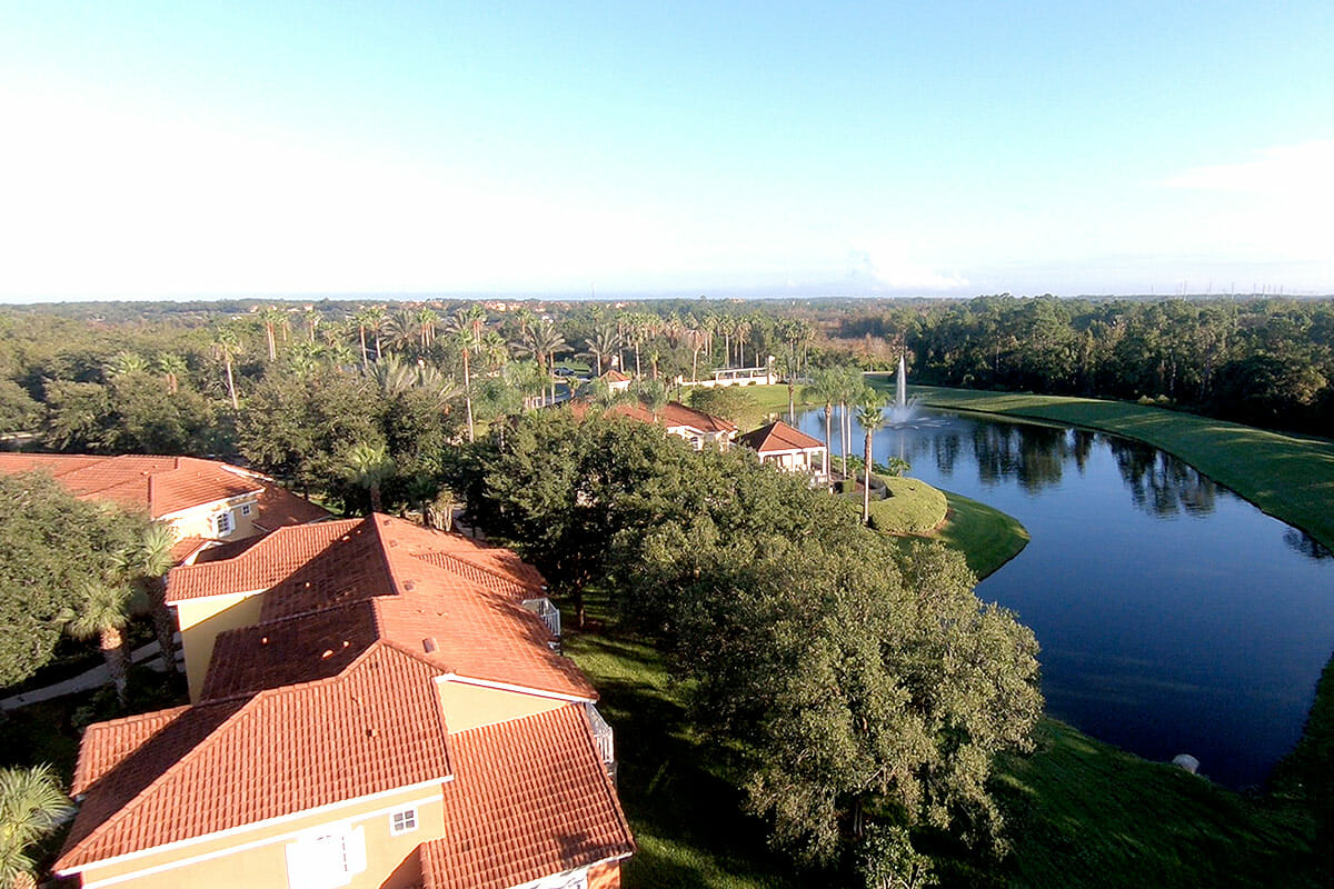 Emerald Island Vacation Town Home Top View 3