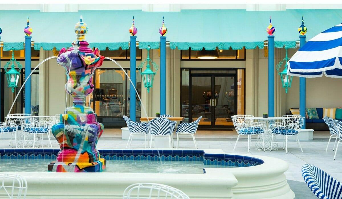 Hilton Buena Vista Palace Fount
