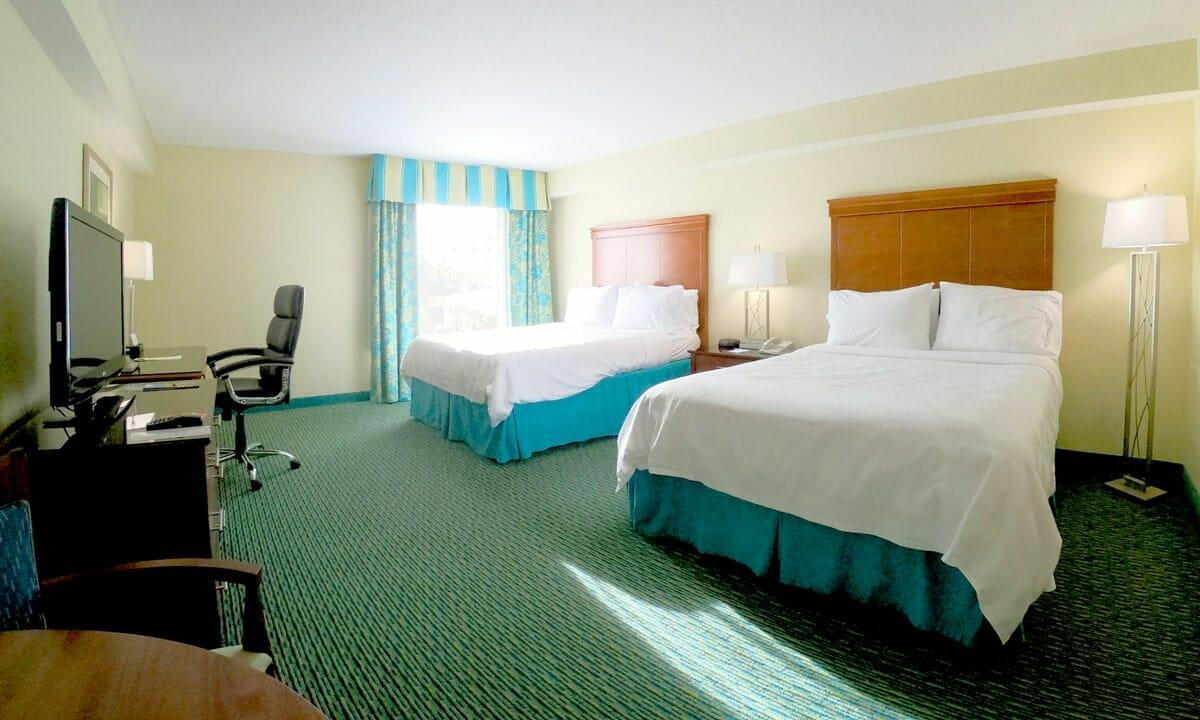Holiday Inn LBV Orlando Hotel Bedroom - OrlandoVacation