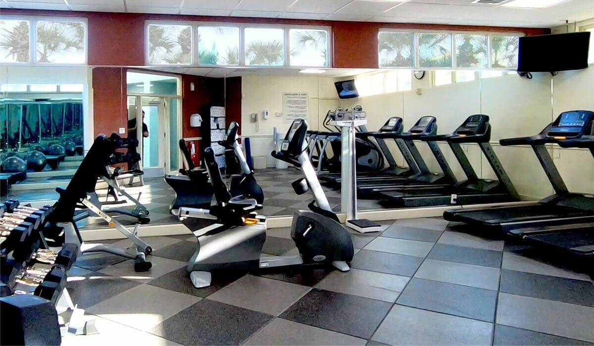 Holiday Inn Lake Buena Vista Orlando Hotel Fitness Center - OrlandoVacation