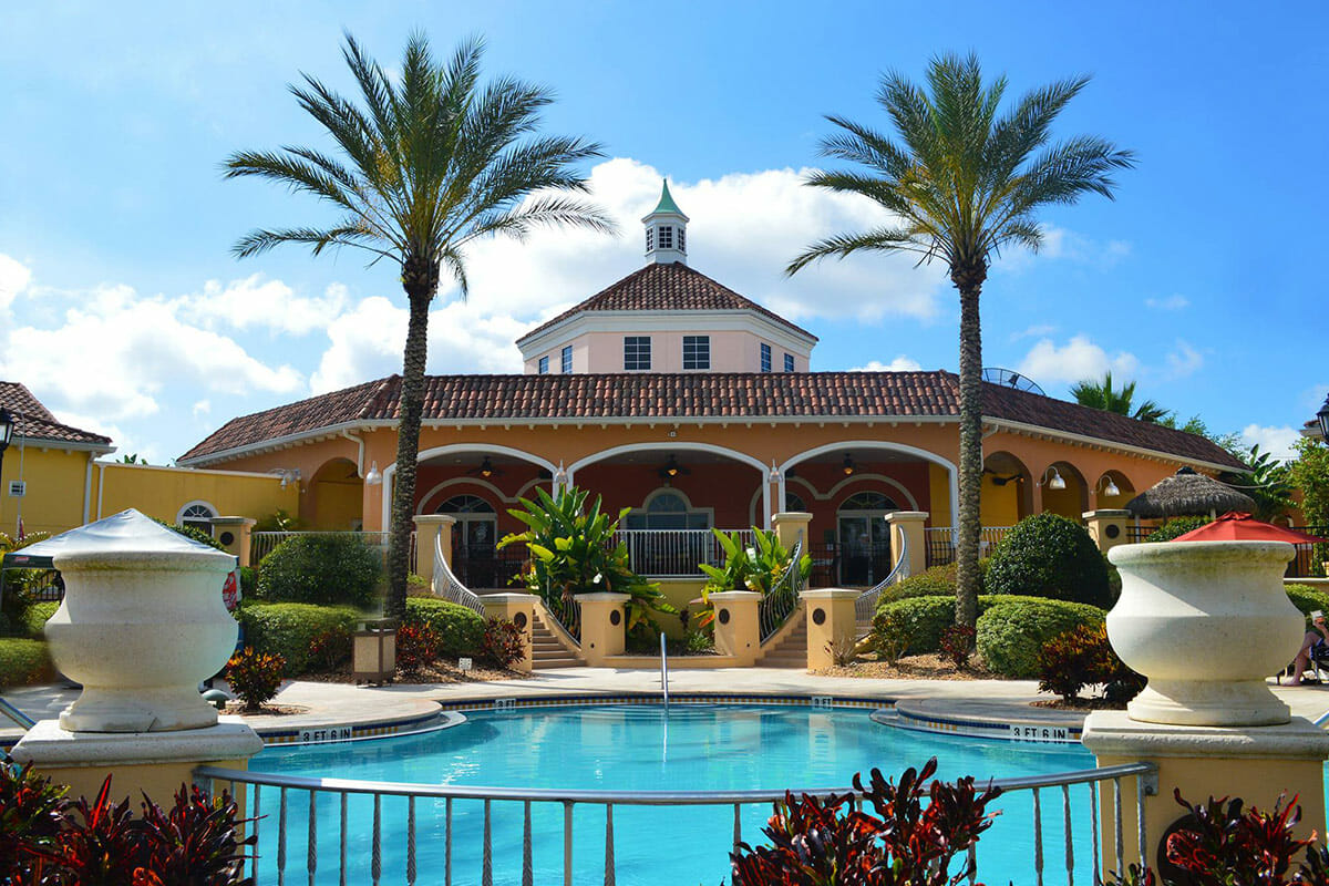 Regal Palm Resort Vacation Town Home Club House Pool