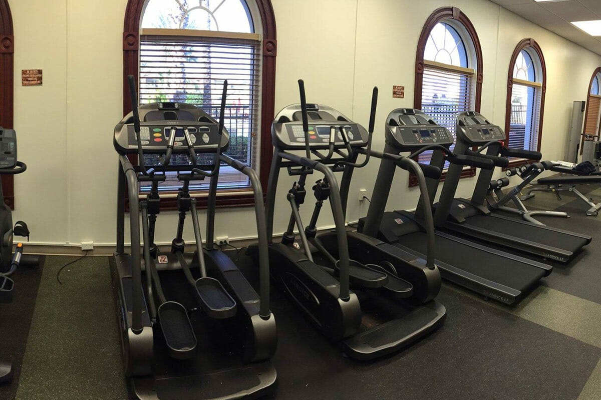 Regal Palm Resort Vacation Town Home Fitness