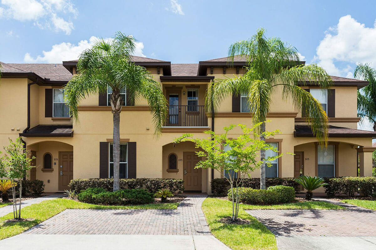 Regal Palm Resort Vacation Town Home Front View 2
