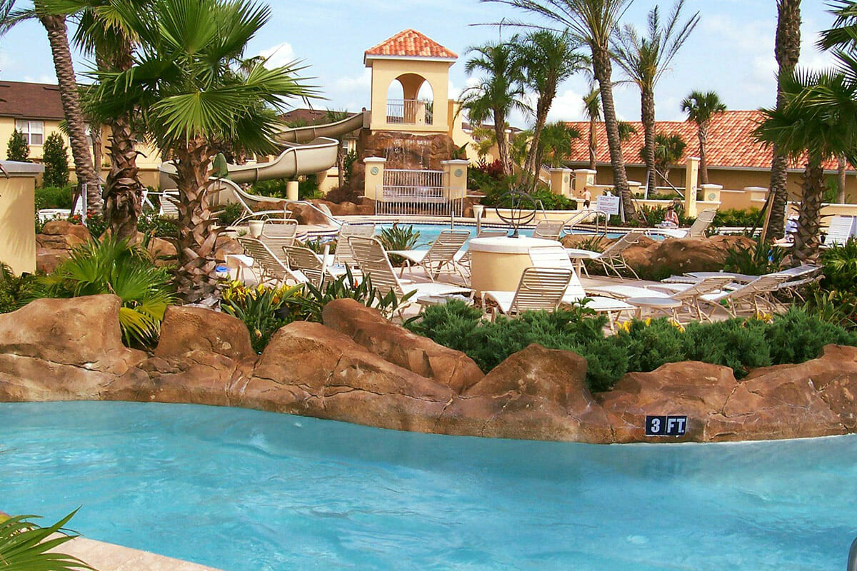 Regal Palm Resort Vacation Town Home Lazy River Pool