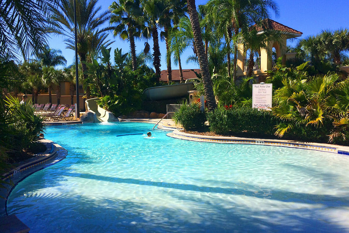 Regal Palm Resort Vacation Town Home Pool 1