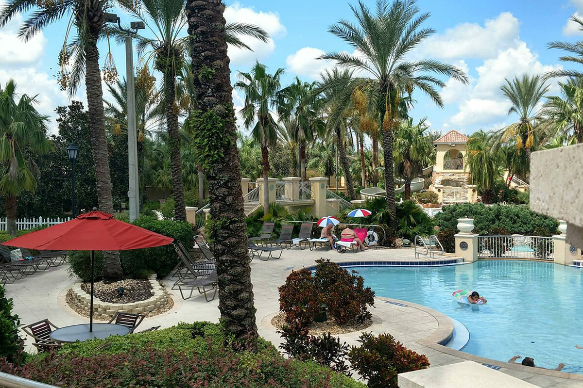 Regal Palm Resort Vacation Town Home Pool 2