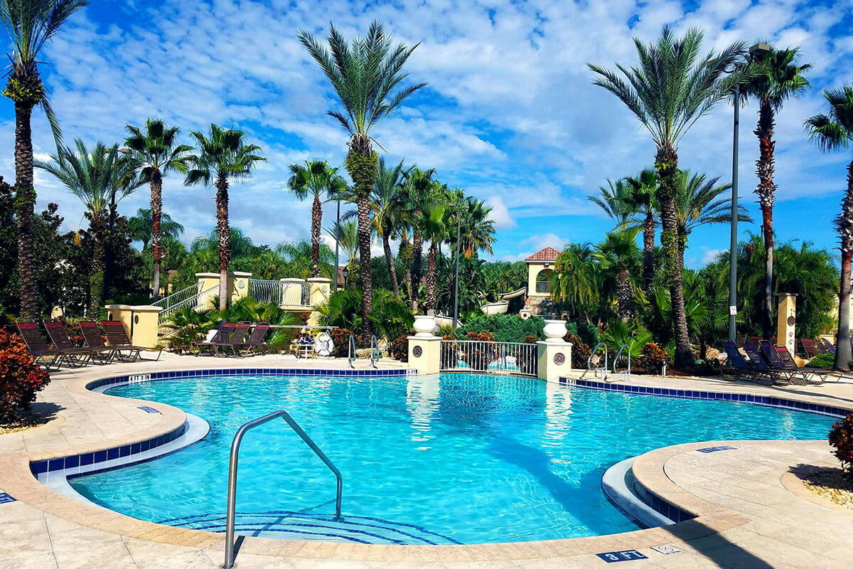 Regal Palm Resort Vacation Town Home Pool 3