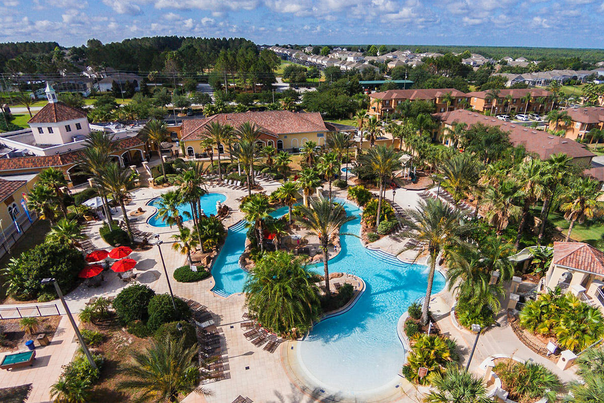 Regal Palm Resort Vacation Town Home Top View