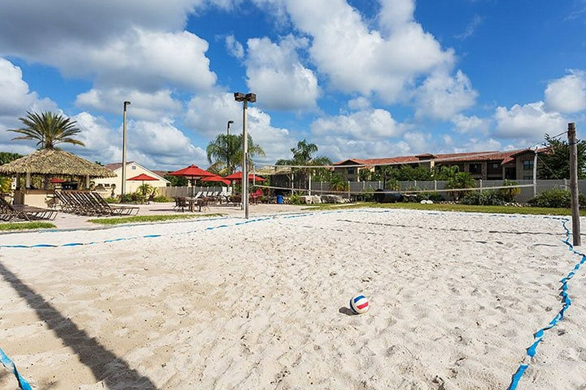 Regal Palm Resort Vacation Town Home Volleyball Sand_court