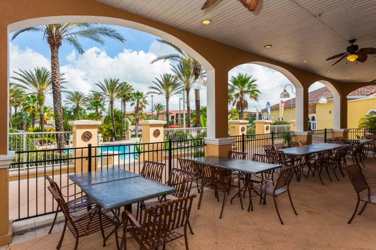 Regal Palm Resort Vacation Town Home Waterpark Dinning